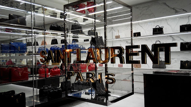Image Attribute: The file photo of Hong Kong CWB Time Square mall shop of YSL Saint Laurent interior July-2014 / Source: Wikimedia Commons