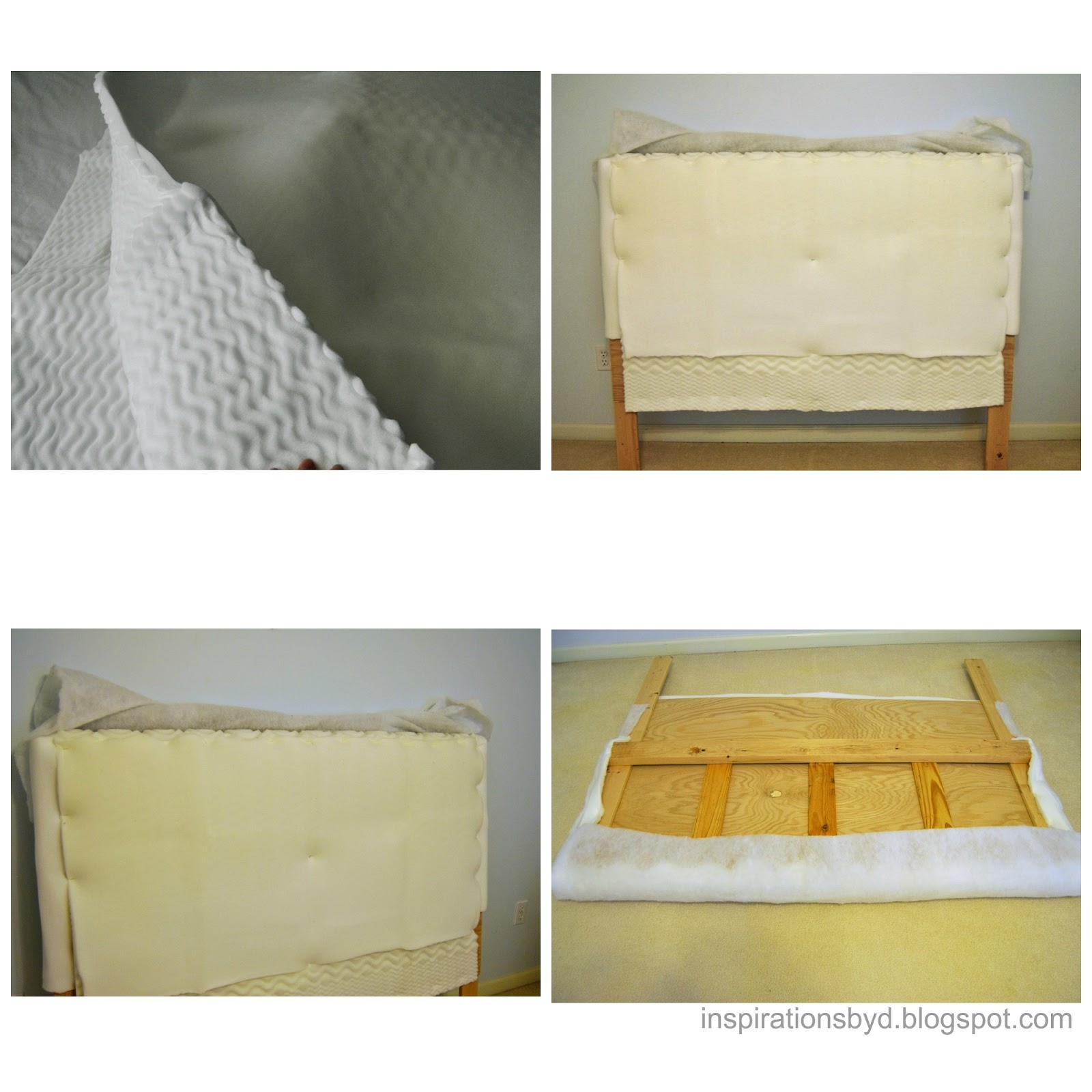 Inspirations By D Diy Tufted Headboard