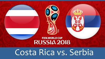 Tips Bola Piala Dunia Kosta Rika vs Serbia