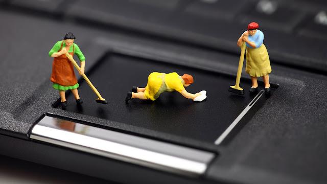 تنظيف الكمبيوتر من الملفات غير المستخدمة يؤدي إلى تسريع أدائه-