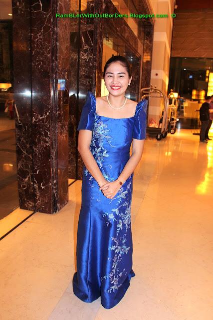 Concierge, Radisson Blu Hotel, Cebu, Philippines