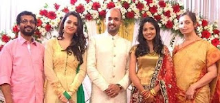Bhavana Family Husband Parents children's Marriage Photos