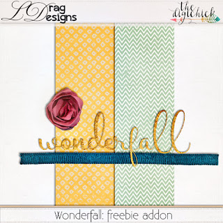 Creative Team, Annemarie, for Heartstrings Scrap Art -  Faded Glory 2 Template Set and Wonderfall with Coordinating Freebie by LDrag