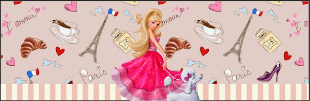 Barbie Magic and Fashion Free Printable  Labels.