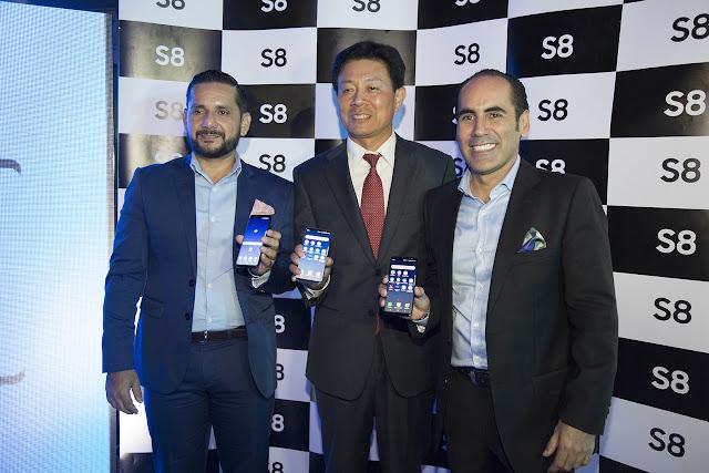 Samsung Electronics presentó en Ecuador el nuevo Galaxy S8