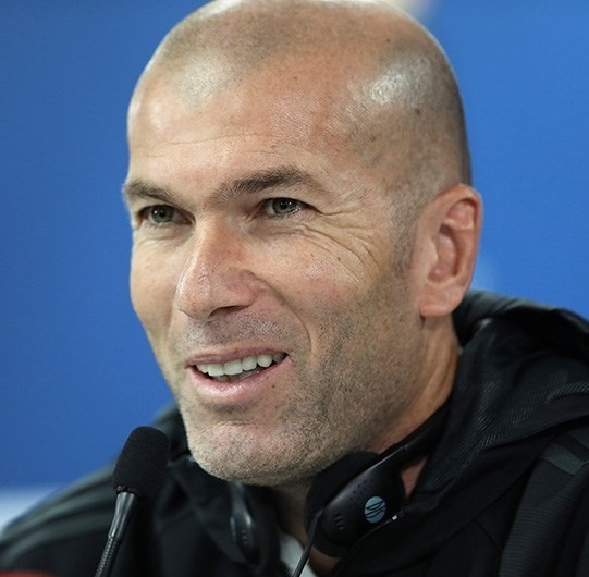 What happened at the first Zidane conference with Real Madrid?