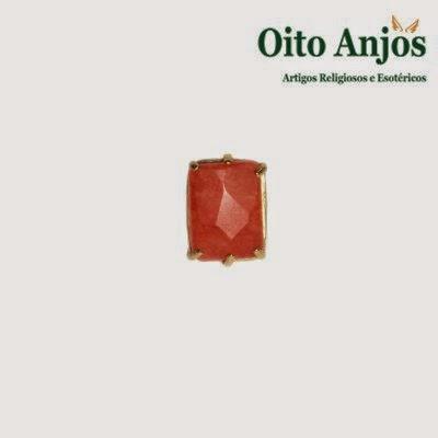 Anel Pedra * Oito Anjos Artigos Religiosos e Loja Esotérica