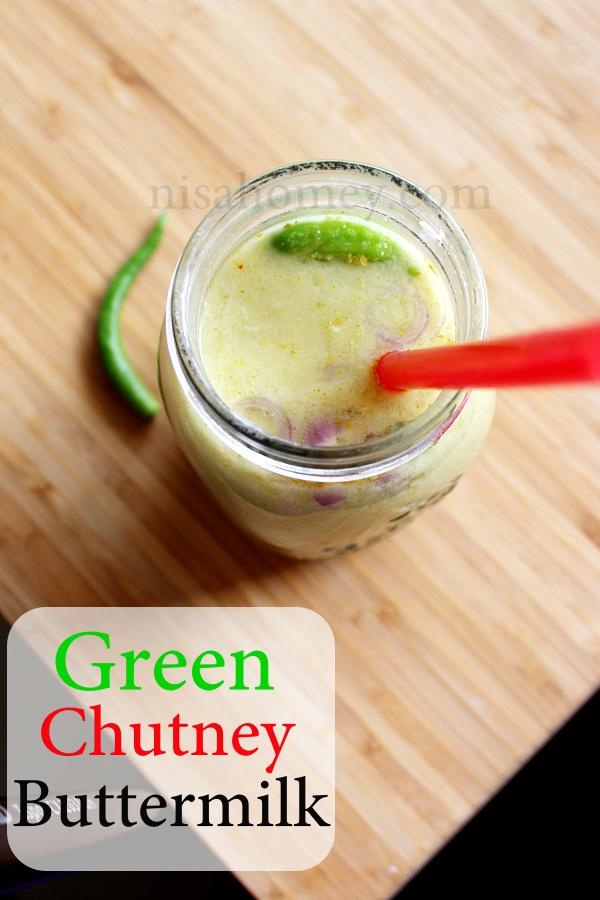green chutney buttermilk