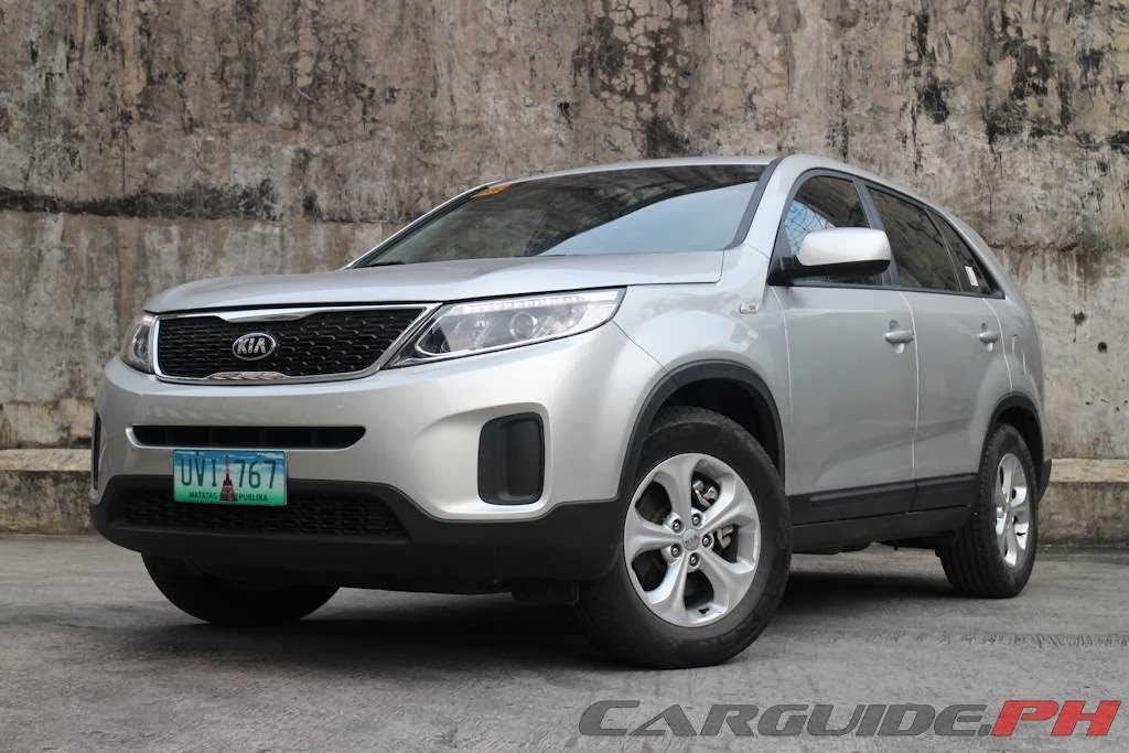 review 2014 kia sorento lx crdi 2wd 5 seater philippine car news car reviews automotive. Black Bedroom Furniture Sets. Home Design Ideas