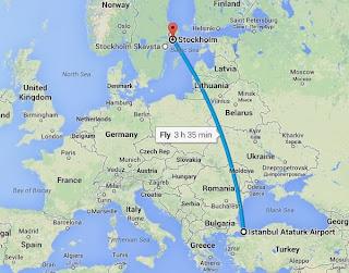 İsveçe Uçakla Gitmek