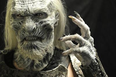 Makeup di un White Walker (Il Trono di Spade - Game of Thrones)