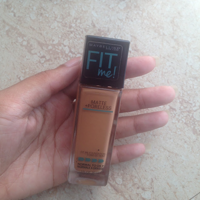 Maybelline Fit Me Foundation @ niquewallace.com