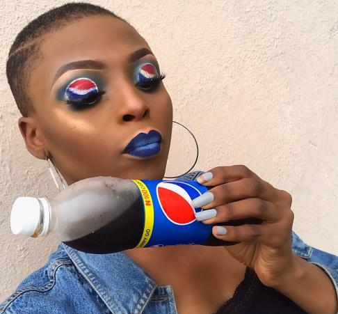 makeup artist pepsi logo