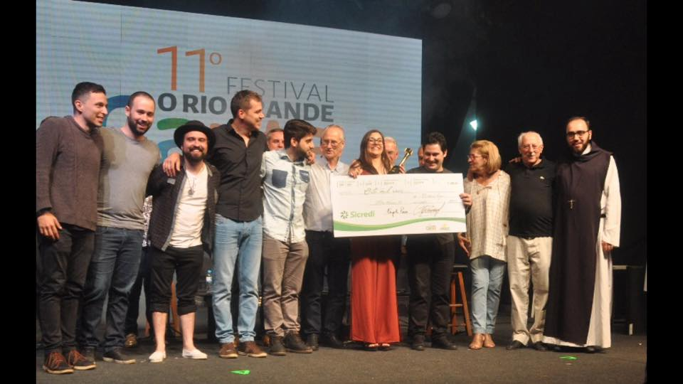 "O Samba ""Brasilidade"" vence o 11º Festival o Rio Grande Canta o Cooperativismo"