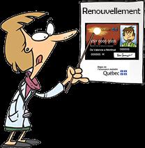 ¿Cómo renovar de l'Assurance Maladie (RAMQ)?