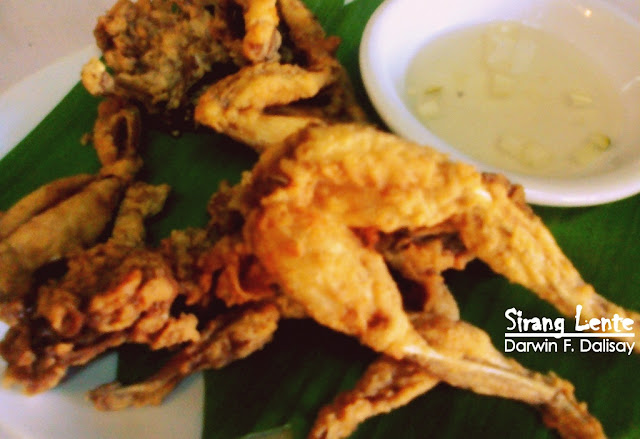 Fried frog is one of the famous Exotic Foods in the Philippines