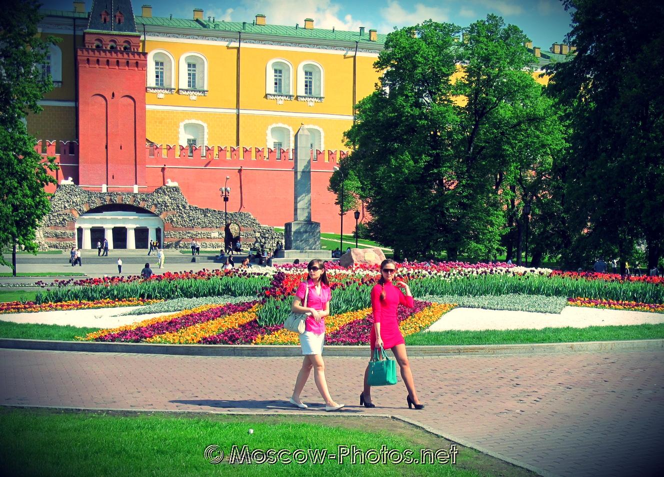 Moscow Alexander Garden