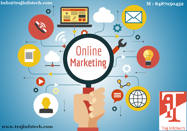 Online Marketing Strategies - Traj Infotech