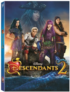 Disney's Descendants 2 DVD Review