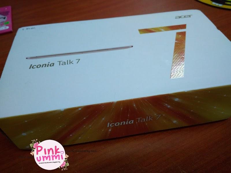 Acer Iconia Talk 7 Untuk Mama