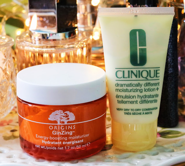 Origins GinZing and Clinique dramatically different+