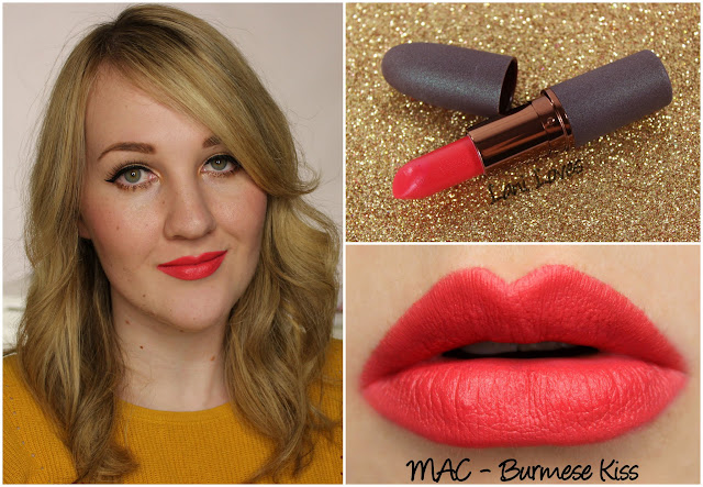 MAC Burmese Kiss lipstick swatch
