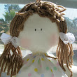 Cloth doll 12,5 inches