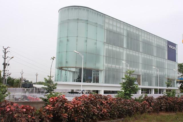 Volvo Opens Its Biggest Showroom In India