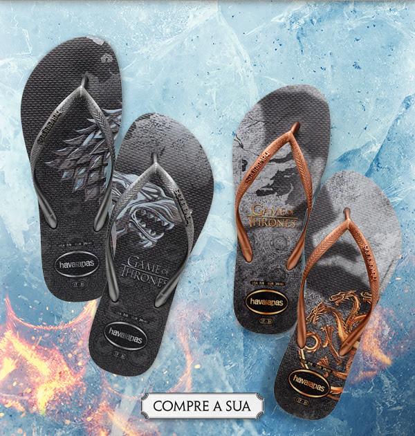 83be45043 Você pode adquirir os chinelos da sua série favorita sem sair de cada e  colocar de vez os pés no universo Game Of Thrones.