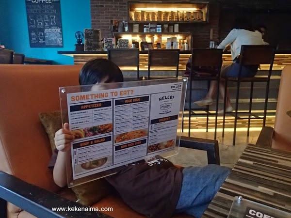 menu lacamera coffee bandung