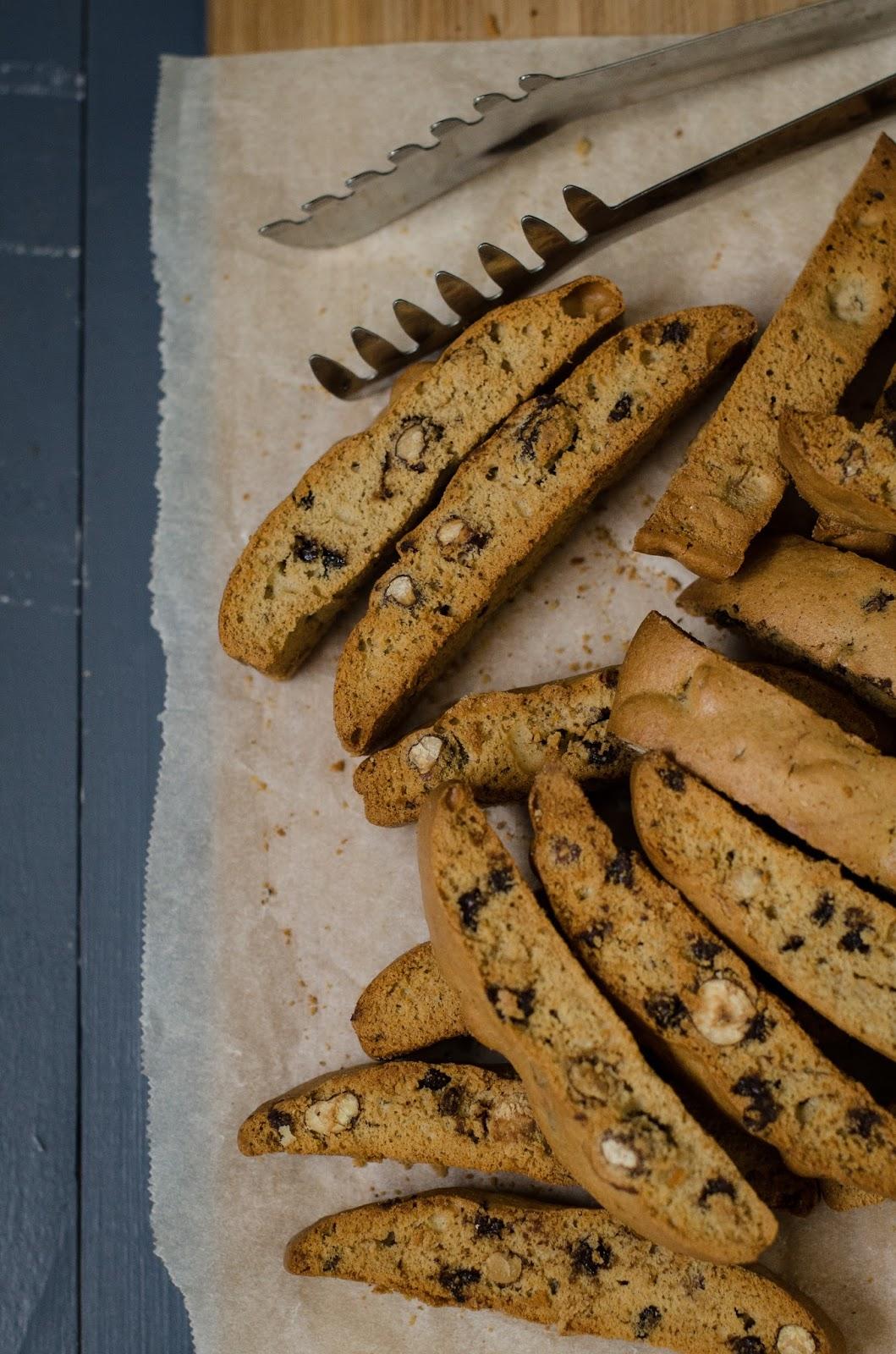 Biscotti noisette chocolat