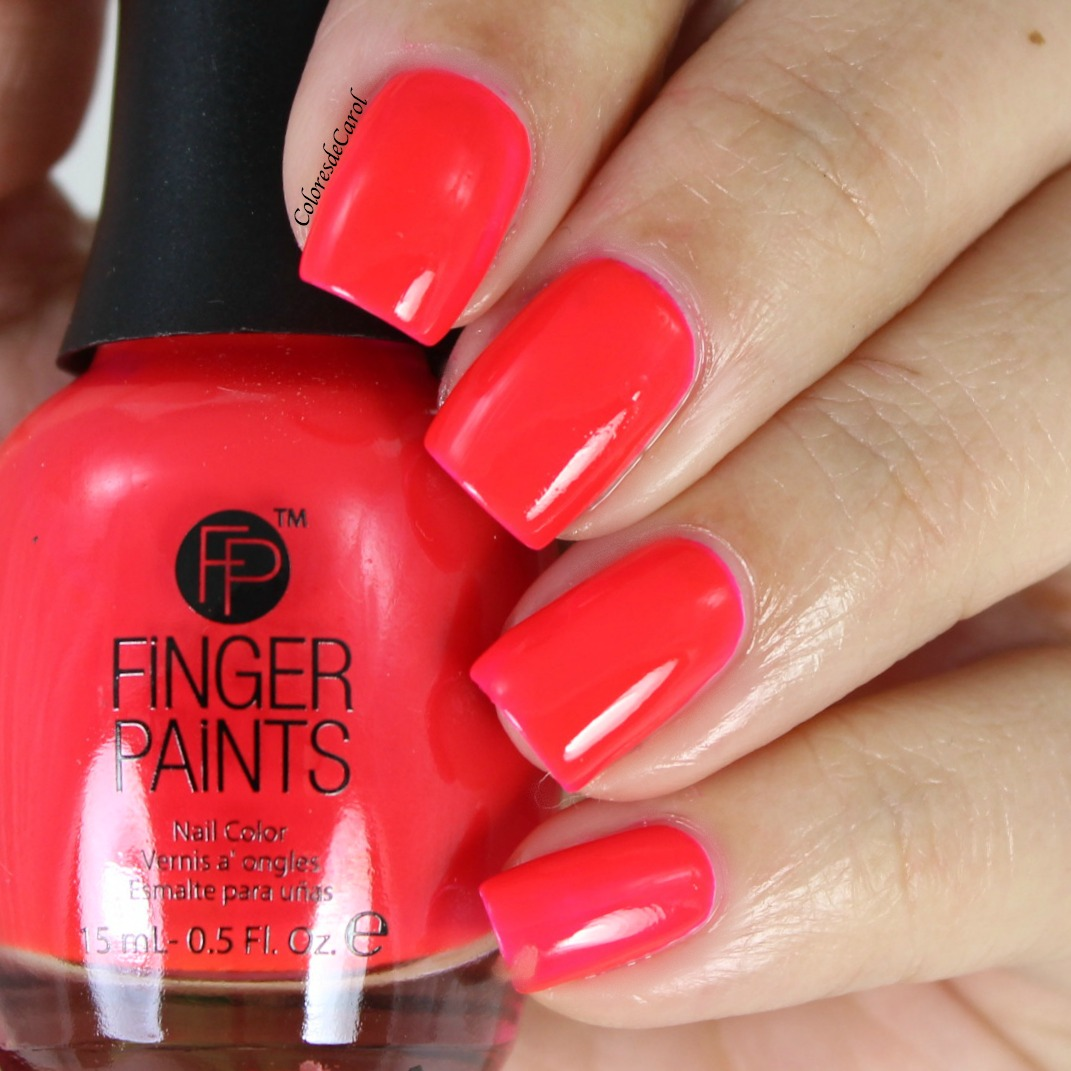 Colores de Carol: Finger Paints, New Shades
