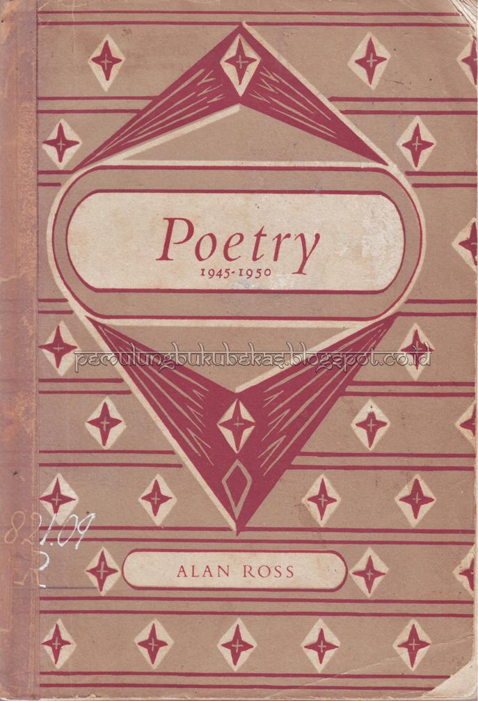 Buku Kumpulan Puisi Alan Ross