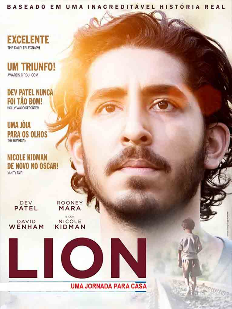 Lion: Uma Jornada Para Casa 2017 Torrent – BluRay 720p/1080p Dual Áudio