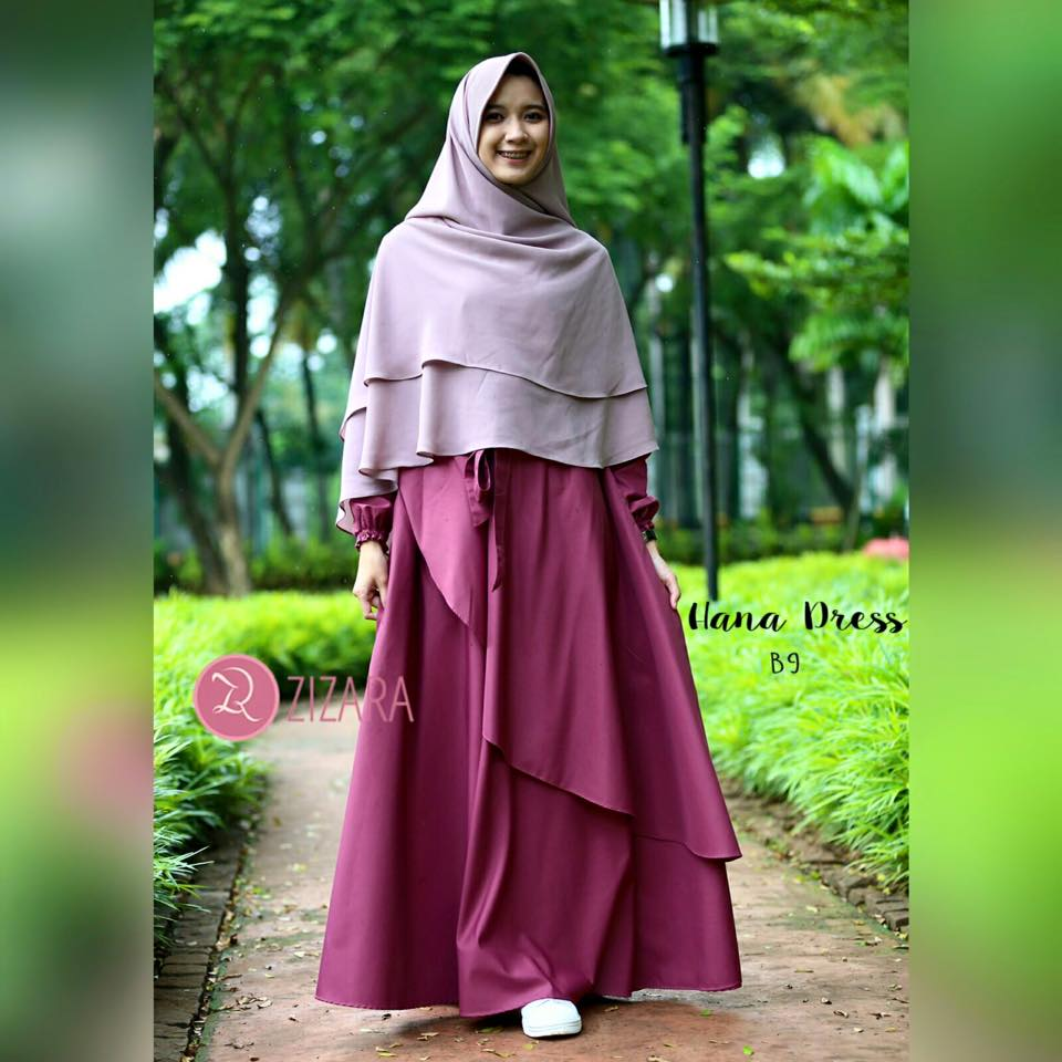Gamis Zizara Hana Dress B9