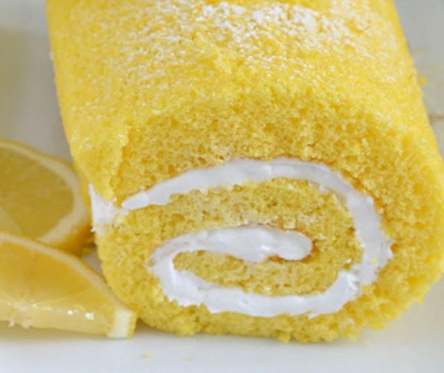 Lemon Swiss Roll