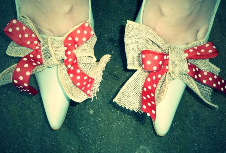 Up-cycled Shoes: The Tutorial And How To Create Some For Yourself!
