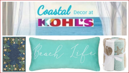 Coastal Decor at Kohls