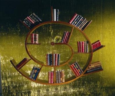 Diseño de librero creativos.