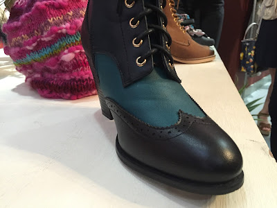 Black and Green Boots