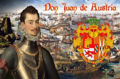 Don Juan de Austria, digno merecedor de figurar entre los personajes de 4vium, sin duda.