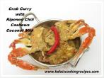 Crab ChiliCoconut Curry