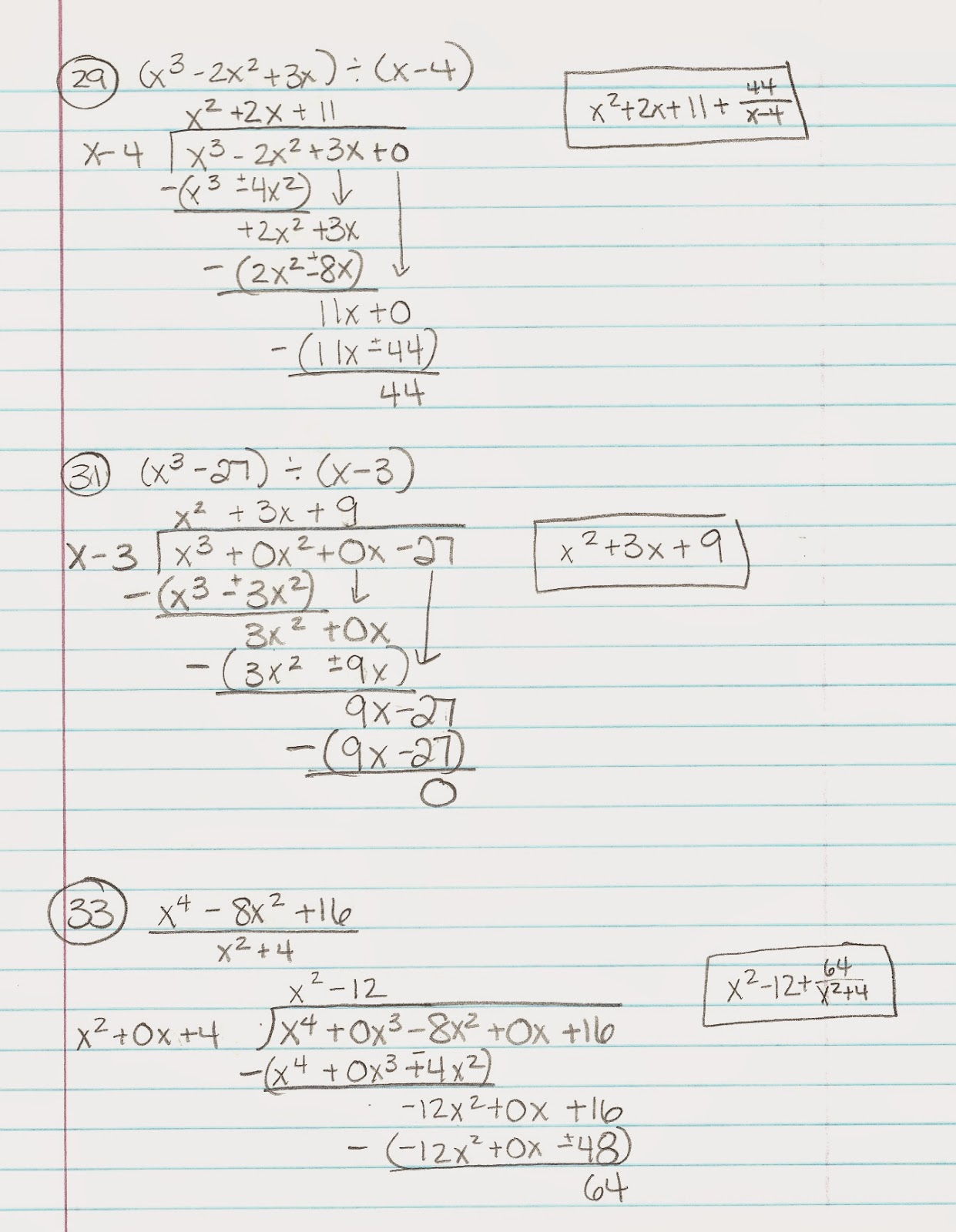 Multiplying Polynomials Practice B Answers