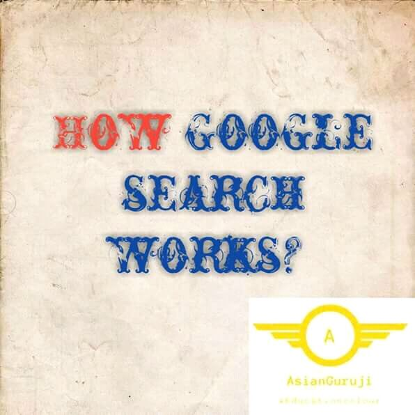 How Google search works?