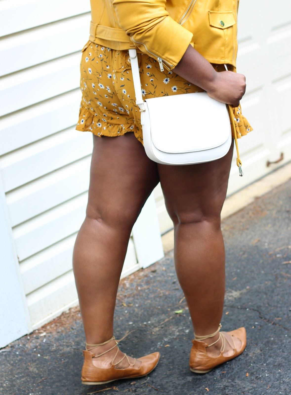 cf6ffa9c81eb How to Transition From Spring To Summer  Mustard Romper Outfit ...