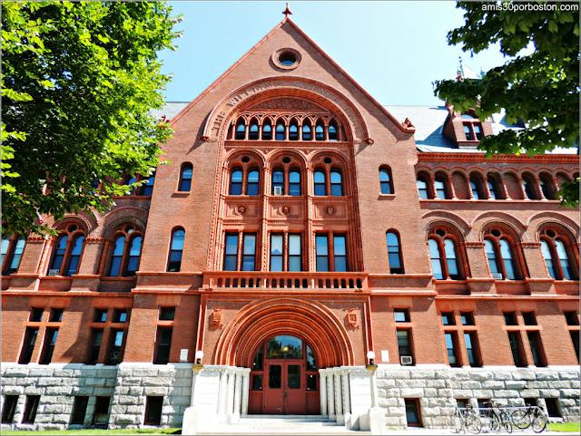 Williams Hall en la Universidad de Vermont, Burlington