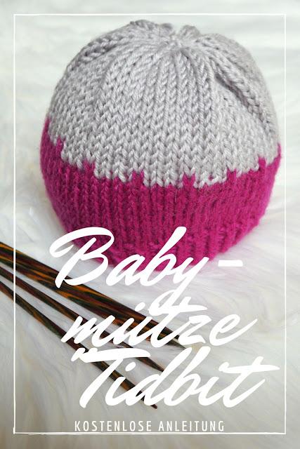 Kostenlose Anleitung für die Strickmütze Tidbit für Babys