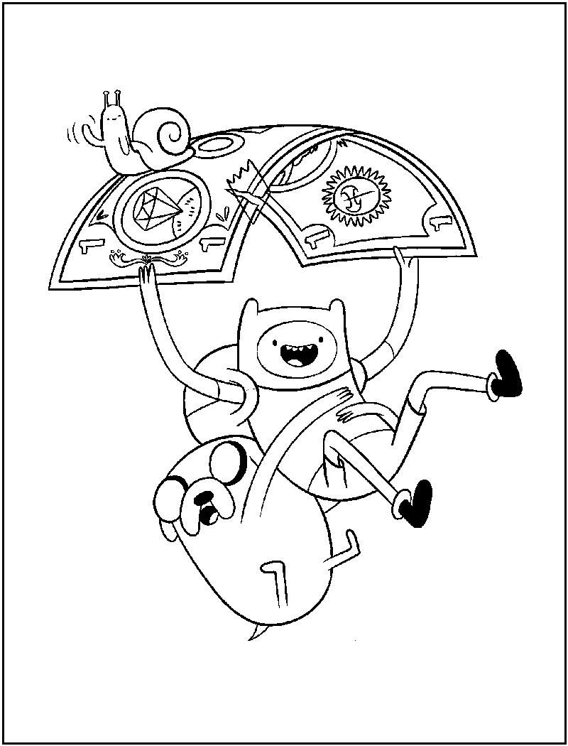 Adventure bay coloring pages ~ super kuka: hora de aventura para colorir