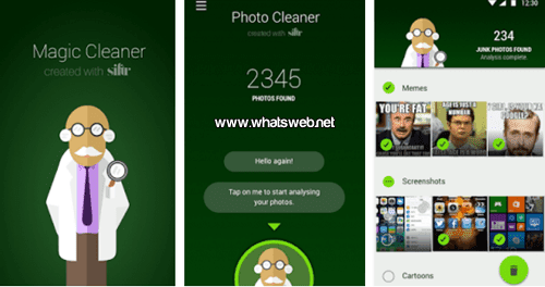 Magic Cleaner for WhatsApp gratis para Android