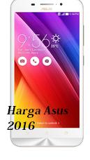 Senarai harga Asus 2016